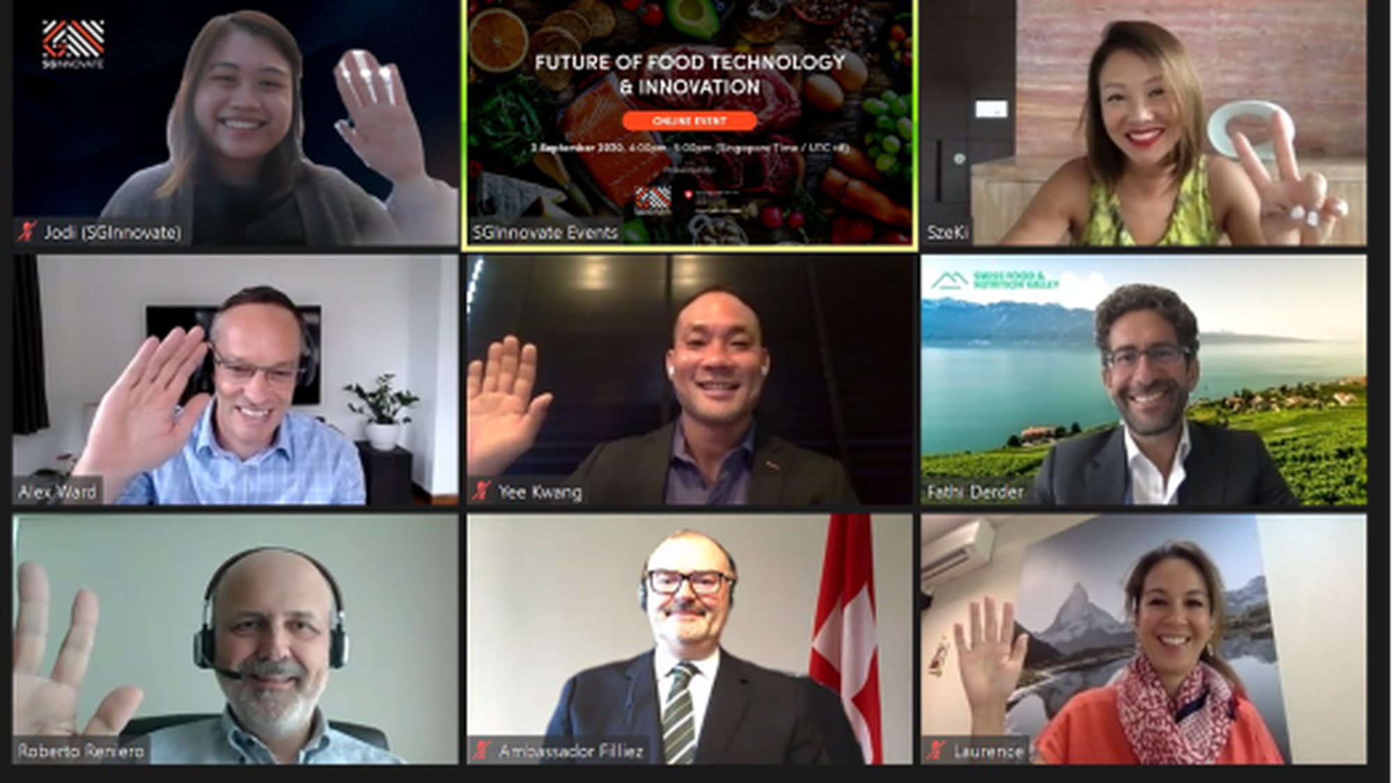 Open discussion on the Future of Food Technology and Innovation via Zoom